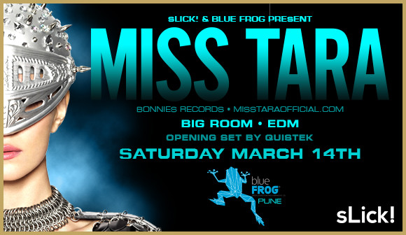 Miss Tara Blue Frog Pune India