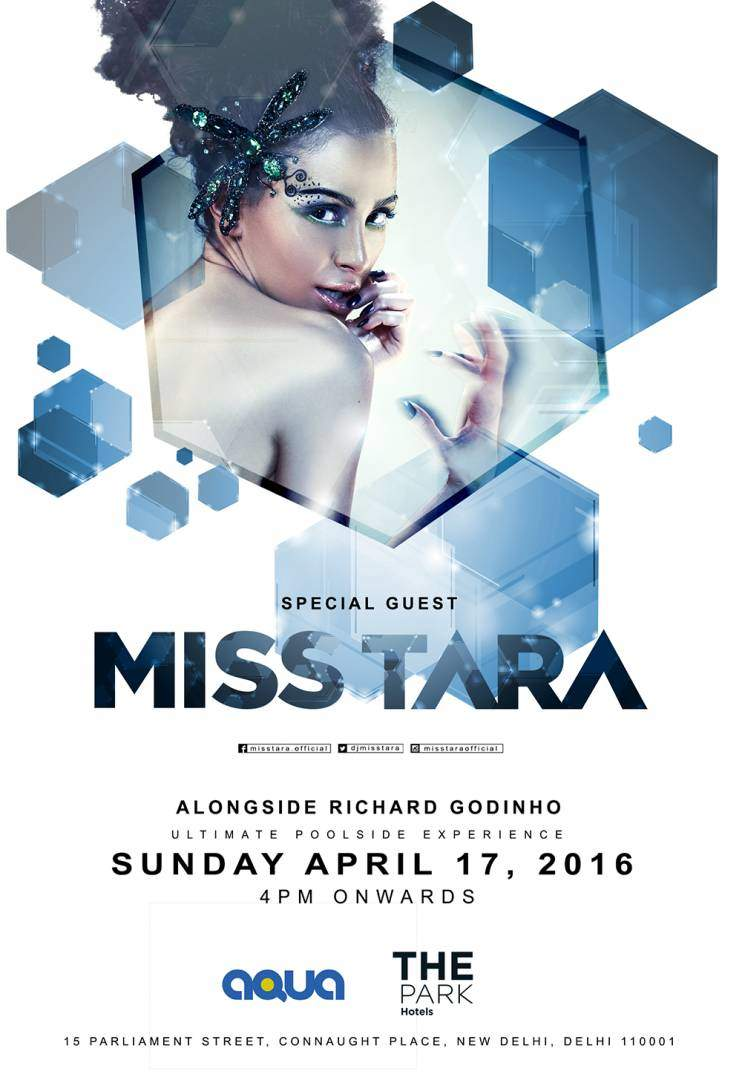 MISS TARA AquaThePark_Delhi_April17_Flyer