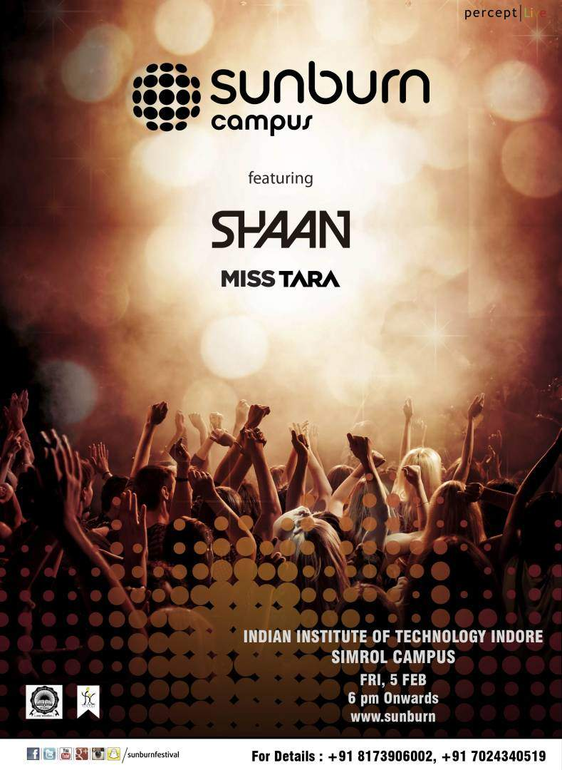 MISS TARA SUNBURN CAMPUS INDORE INDIA