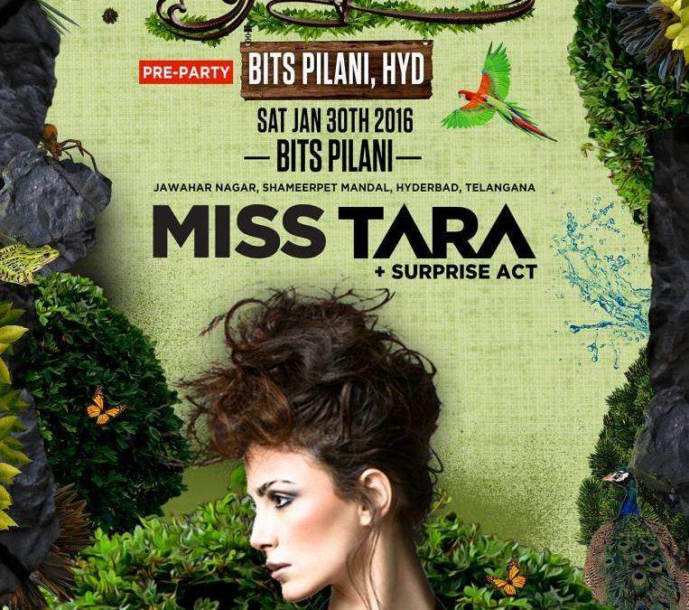 MISS TARA BITS PILANI CAMPUS HYDERABAD INDIA