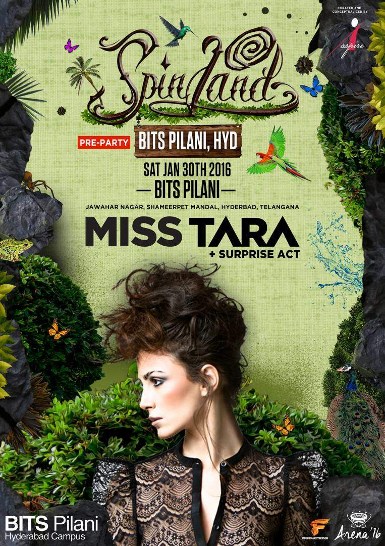 MISS TARA BITS PILANI CAMPUS HYDERABAD INDIA