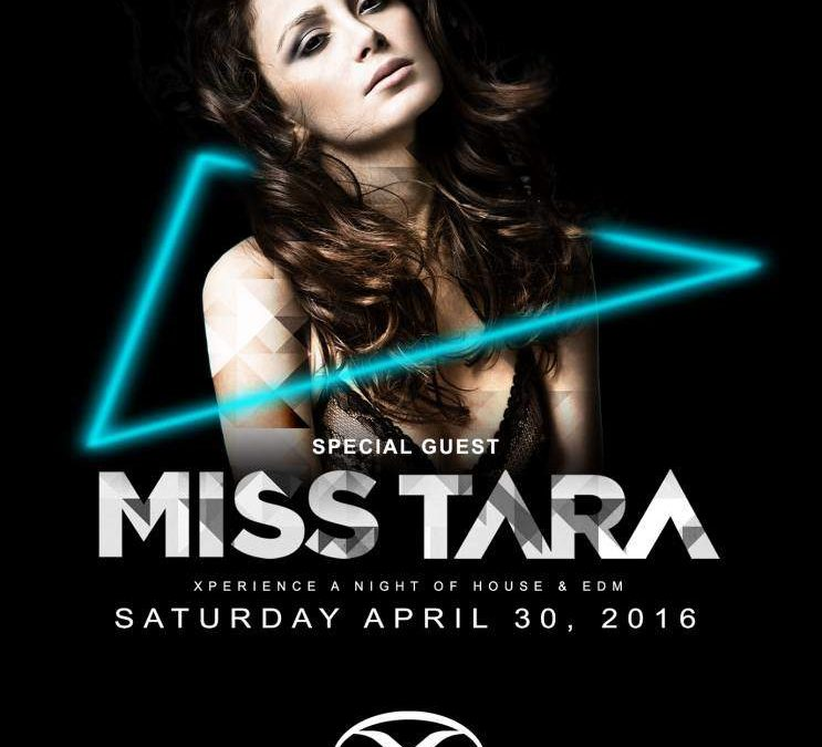 MISS TARA TheXClub Flyer