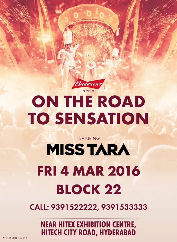 Miss Tara Road to Sensation