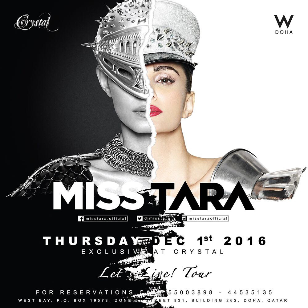 MISS TARA, DJ, PRODUCER, CRYSTAL CLUB, DOHA, QATAR