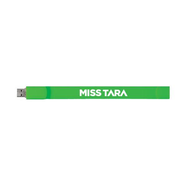 MISSTARA 16GB USB WRISTBAND GREEN