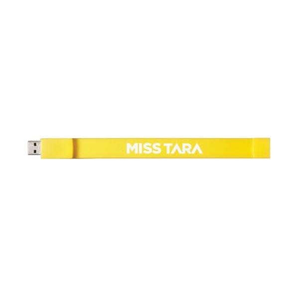 MISSTARA 16GBUSB WRISTBAND YELLOW